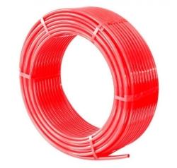 Труба cшит. п/э TIM PE-Xb, диаметр Ø16*2.0(600м) красный