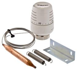 Термоголовка VALTEC с выносным накладным датчиком (диап. Регул-ки 20-60С) 2м.