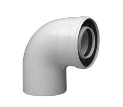 Колено подключения 90* (Ø60/100mm) Immergas