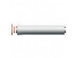 Удлинение M/F D 60/100 - 500 мм с центрирующей пружиной для газовых котлов Ariston. Артикул 3318006