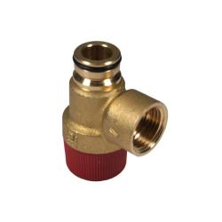 Клапан предохранительный гидравлический 3 бара BAXI 9951170