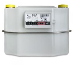 Cчётчики газа BK G4 T с механической термокомпенсацией. Арзамас