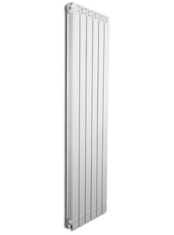 Дизайнерские алюминиевые радиаторы Fondital GARDA DUAL 80 ALETERNUM  1000 (4 сек)