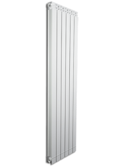Дизайнерские алюминиевые радиаторы Fondital GARDA DUAL 80 ALETERNUM  1800 (4 сек)