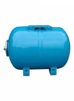 "Гидроаккумулятор ULTRA-PRO 100л Гориз., 10 Бар, 1""G, (-10 +99 С), Синий"