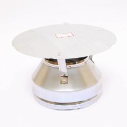 Оголовок Ferrum (430/0,5) для дымоходов-сэндвич Ø100х200