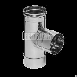 Тройник-К Ferrum 90° (430/0,5 мм) Ø 80