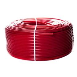 STOUT 20х2,0 (бухта 100 метров) PEX-a труба из сшитого полиэтилена с кислородным слоем (красная, 1м)