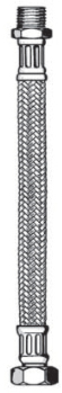 """Гибкие подводки 3/4"""" в металлической оплетке для питьевого водоснабжения, отопления и климатехники"""
