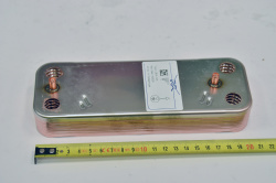 Теплообменник ГВС пластинчатый вторичный на 12 пластин