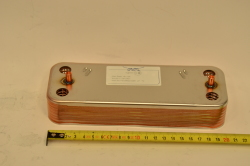 Теплообменник ГВС пластинчатый вторичный на 14 пластин  711613000